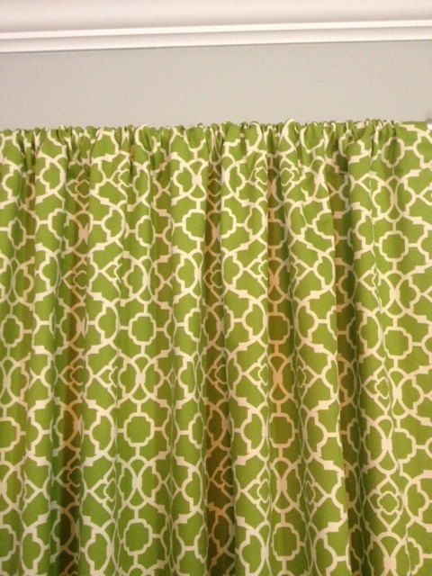 exceptional Waverly Lovely Lattice Curtain Part - 12: Waverly Lovely Lattice Curtains, Designer Curtains, blue, green, pink, black